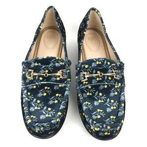 Cabi Velvet Carnaby Loafers Size 7